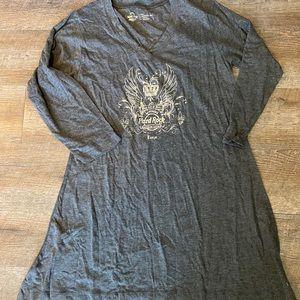 new in bag Hard Rock Hotel Sleep Dress Gray